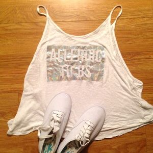 NEW ALLERGIC TO BS Aeropostale Casual Tank Top